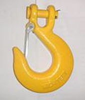 clevis slip hook yellow